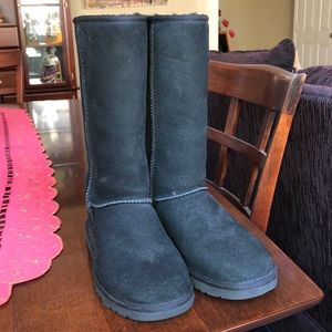 Tall Black UGG boots Size 6
